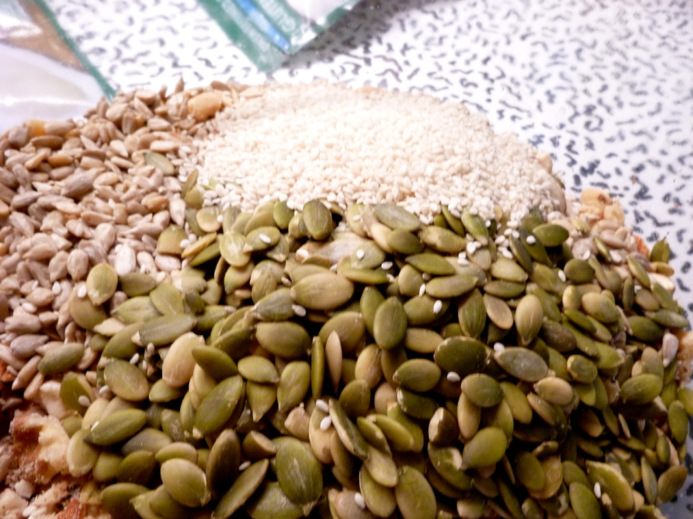 seeds for granola