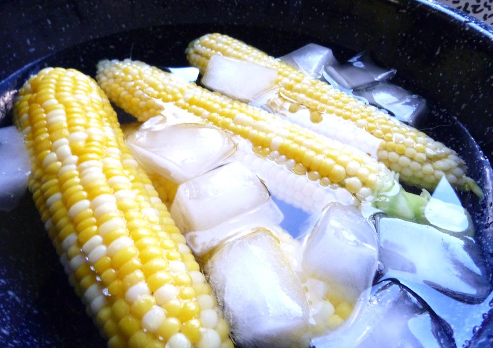 corn cooling