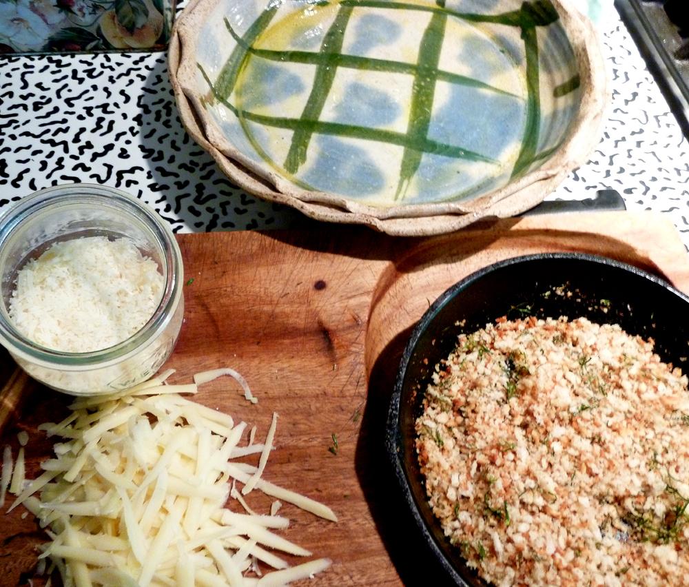 chard gratin ingredients 2