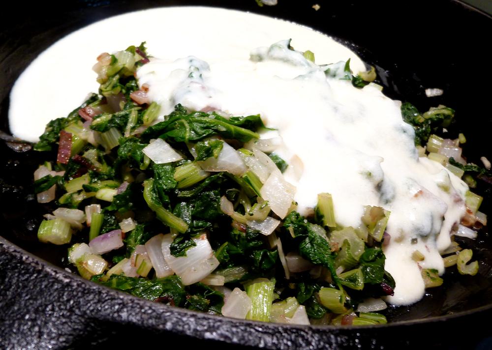 chard gratin ingredients 3