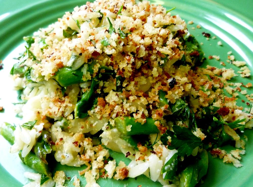 orzo with asparagus 2