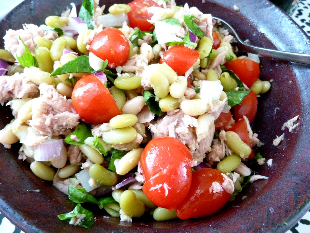 tuna and beans